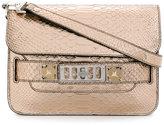 Proenza Schouler croc effect satchel