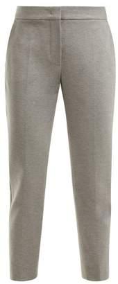 Max Mara Peplo Trousers - Womens - Light Grey