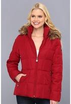 Calvin Klein Faux Fur Trim Hooded Puffer Parka CW319755