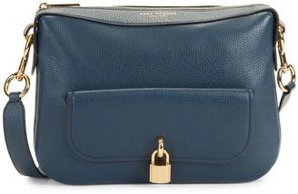 Marc Jacobs Zip-Top Leather Crossbody Bag