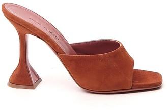 Amina Muaddi Lupita Heeled Slippers