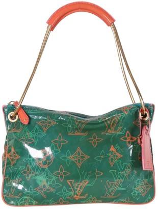 Louis Vuitton Green Patent leather Handbags