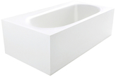 Zenith True Solid Surface Soaking Tub