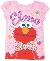 Freeze Pink Sesame Street 'Elmo' Tee - Toddler & Girls