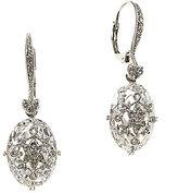 Nadri Crystal Filigree Drop Earrings