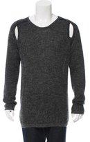 Ann Demeulemeester Cutout Alpaca Sweater
