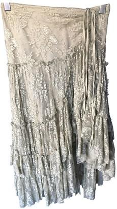 Maje Khaki Skirt for Women