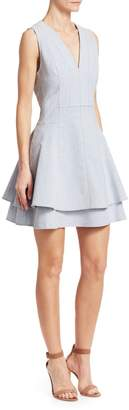 Derek Lam Denim Fit-&-Flare Dress