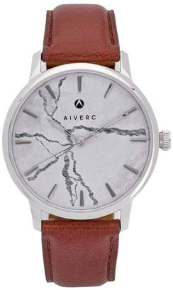 Limited Edition Luxury Analog Watches By Aiverc Faena Grey Concrete With 40Mm Watch Band For Men