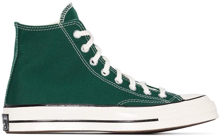 Green Converse High Tops   Shop the