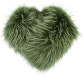 Mr & Mrs Italy - fur collar - women - Polyester/Racoon Fur - One Size