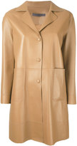 Simonetta Ravizza Love coat - women - Leather - 42