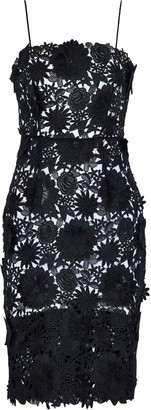 Milly Floral-appliqued Guipure Lace Dress