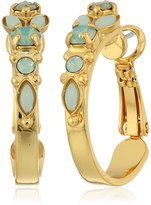 Sorrelli Mini Assorted Crystal Hoop Earrings