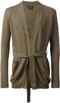 Laneus belted cardigan - men - Cotton - 48