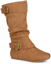 Journee Collection Shelley 12 Wide Calf Mid-Rise Slouch Boots