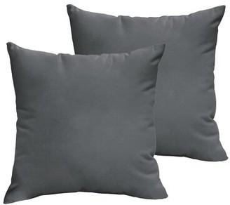 "Laurel Foundry Modern Farmhouse Mackenzie Outdoor Square Throw Pillow Size: 18"" H x 18"" W x 6"" D"