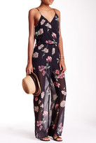 Romeo & Juliet Couture Floral Sleeveless Jumpsuit