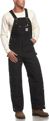 Carhartt Men's Big & Tall Quilt Lined Zip to Thigh Bib Overalls