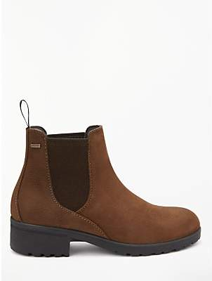 Waterford Dubarry Chelsea Ankle Boots, Brown Leather