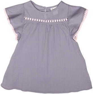 Floatimini Angel Sleeve Keyhole Back Cover-Up Dress