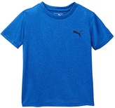 Puma Logo Heather Tee (Little Boys)