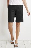 J. Jill Easy Linen Flat-Front Walking Shorts