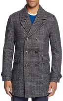 Ted Baker Watts Plaid Double Breasted Coat