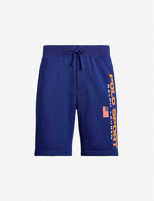 Polo Ralph Lauren Logo-print cotton-jersey shorts