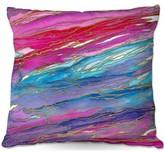 """Agate Magic Throw Pillow East Urban Home Size: 20"""" H x 20"""" W x 5"""" D"""