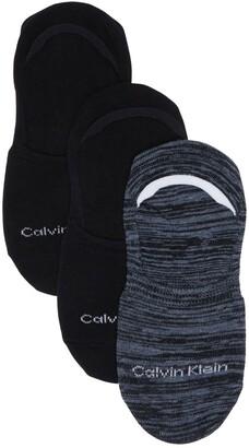 Calvin Klein Liner No-Show Socks - Pack of 3