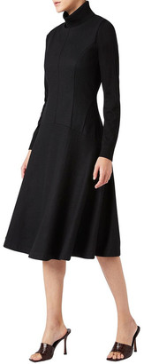 David Lawrence Carli Wool Dress