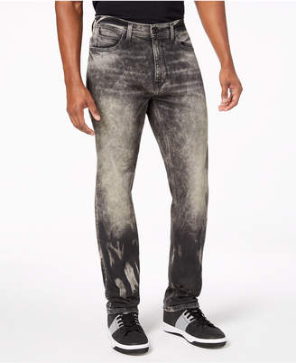 Sean John Men Athlete Relaxed Tapered-Fit Stretch Jeans