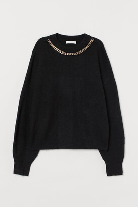 H&M Chain-detail jumper
