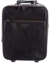 Prada Saffiano Lux Trolley Luggage