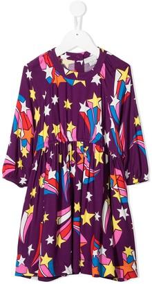 Stella McCartney Kids Shooting Stars print dress