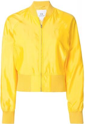 CK Calvin Klein Logo Bomber Jacket