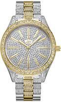 JBW Women's Crystal Two-Tone Diamond Stainless Steel Watch, 39mm
