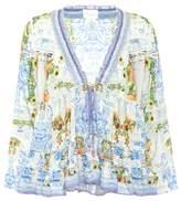 Camilla Printed blouse