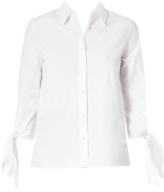 Carolina Herrera Icon Tie-Cuff Shirt
