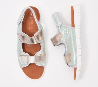 Bernie Mev. Iridescent Sport Sandals - Acacia