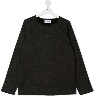 Dondup Kids TEEN sleeve cotton sweatshirt