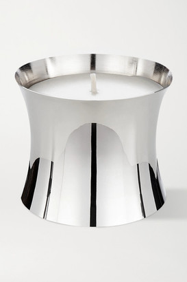 Tom Dixon Royalty Large Scented Candle, 550g - Silver
