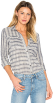 Derek Lam 10 Crosby Long Sleeve Button Down Shirt in Blue. - size XS (also in )