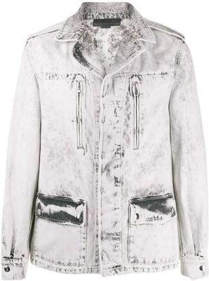 Stella McCartney Bleached Denim Jacket