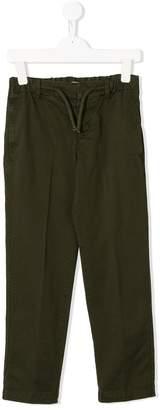 Dondup Kids drawstring trousers