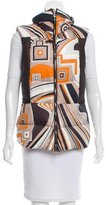 Emilio Pucci Leather-Trimmed Puffer Vest