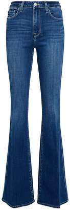 L'Agence Bell High-Rise Flared Jeans
