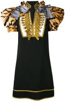 DSQUARED2 exaggerated sleeve military dress - women - Cotton/Polyester/Viscose - 40