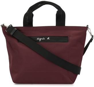 agnès b. Logo Top-Handle Tote
